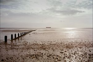 View to Mulberry Harbour Caisson.jpg
